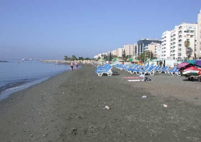 Пляж Лимассола